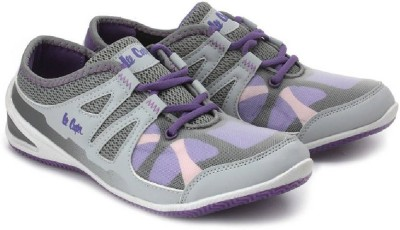 Lee Cooper Running Shoes For Women(Purple)  available at flipkart for Rs.1299