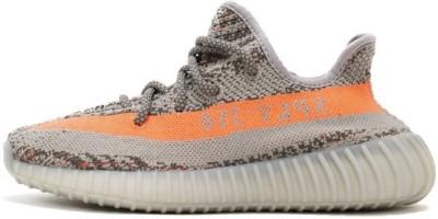 6d6214b7c90 64% OFF on Yeezy Boost SPLY 350 V2 Running Shoes For Men(Orange) on  Flipkart