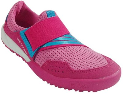 Lee Cooper Running Shoes For Women(Pink)  available at flipkart for Rs.1399