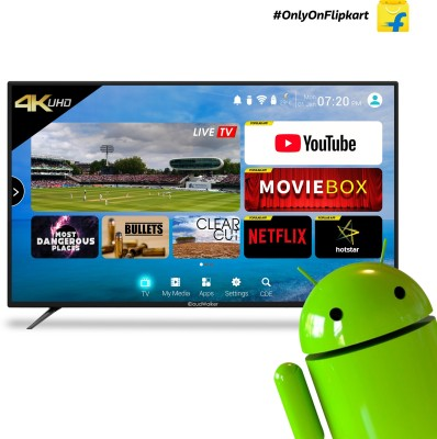 CloudWalker 65 inch Ultra HD (4K) LED Smart TV  (Cloud TV 65SU) is a best LED TV under 60000