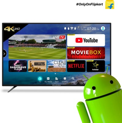 CloudWalker 43 inch Ultra HD (4K) LED Smart TV is one of the best LED televisions under 40000