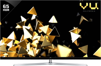 Vu Quantum Pixelight 165cm (65 inch) Ultra HD (4K) QLED Smart TV(65HQ137)