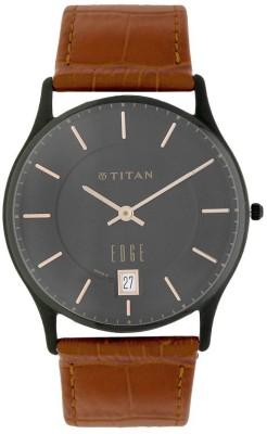 Titan 1683NL01A Edge Analog Watch - For Men