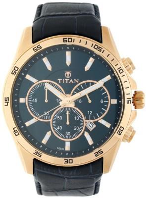 Titan NN90022WL02 Classique Analog Watch   For Men Titan Wrist Watches