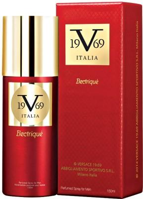 Versace 19.69 Italia Electrique Deodorant Spray For Men 150 ml