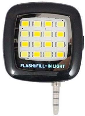 Mobone 16 LED Mobile Selfie X300 Flash(Black)