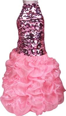 Raj Fancy Dresses Barbie Girl Kids Costume Wear
