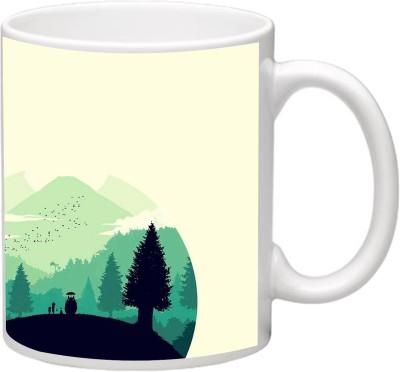MudShi MD-199 Ceramic Mug(330 ml)  available at flipkart for Rs.190