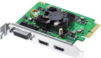 Blackmagic Design Intensity Pro 4K Network Interface Card(Green) at flipkart