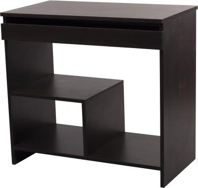 Woodness Geneva Engineered Wood Computer Desk(Modular, Finish Color - Wenge)