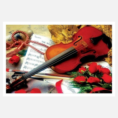 CRAZYINK(VIOLIN BROWN)WALL POSTER (12 * 18) INCH Paper Print(12 inch X 18 inch)  available at flipkart for Rs.169