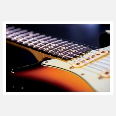 CRAZYINK(GUITAR STRINGS)WALL POSTER (12 * 18) INCH Paper Print(12 inch X 18 inch)  available at flipkart for Rs.169