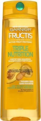 Garnier Fructis Triple Nutrition Shampoo, 370 ML