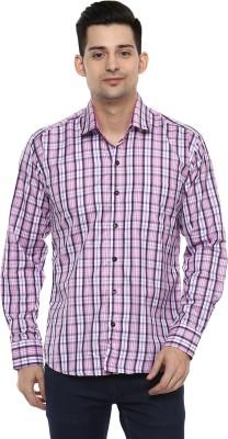 LOBSTER Men's Checkered Casual Shirt