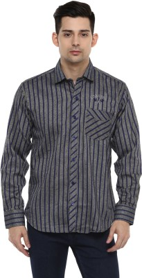 LOBSTER Men's Striped Casual Shirt
