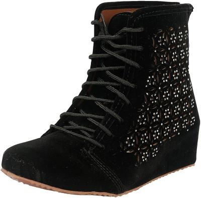 Belly Ballot Boots For Women(Black)