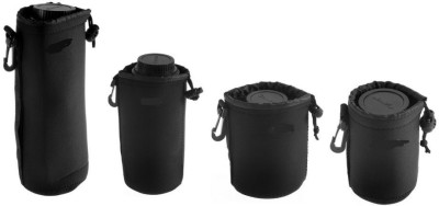 Techlife Solutions Protective Neoprene Camera Lens Case Pouch Camera Lens Pouch, Camera Lens Bag