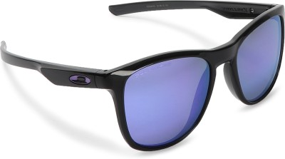 Oakley TRILLBE X Rectangular Sunglass(Violet)