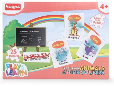 Funskool Play and Learn Animals and their Sounds Board Game