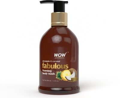 WOW SKIN SCIENCE Fabulous Foaming Body Wash Pineapple & Coconut