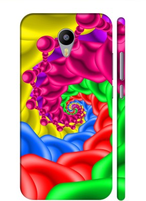 Aman Back Cover for Meizu M2 Note(Multicolor, Plastic)