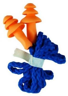 Vezual 3M 1270 Corded Reusable (Pack of 2) Ear Plug & Nose Clip(Orange, Blue)