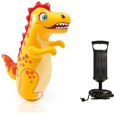 Speoma Inflatable Hit Me Crocodile and Air Pump for inflatable toys and balloons (combo) Inflatable Bouncer(Multicolor)