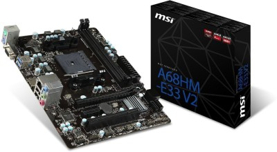 MSI A68HM-E33 V2 Motherboard  available at flipkart for Rs.8120