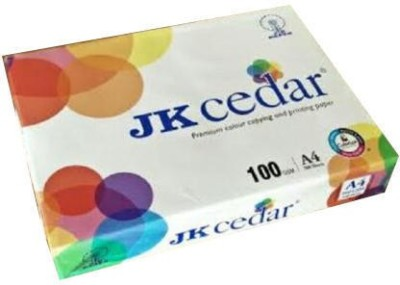 JK cedar unruled A4 A4 paper Set of 1, White