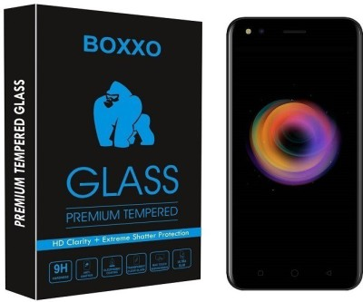 Boxxo Tempered Glass Guard for Micromax Canvas 1(Pack of 1)