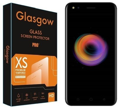Glasgow Tempered Glass Guard for Micromax Canvas 1