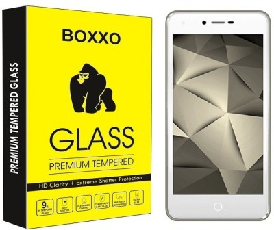 Boxxo Tempered Glass Guard for Karbonn Aura Sleek 4G