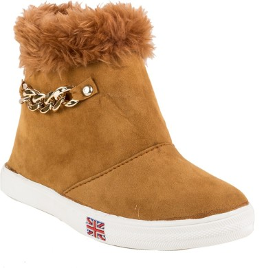 Cuty Fashion Cuty Fashion Fancy Winter Boots For Women & Girls Boots For Women(Tan)