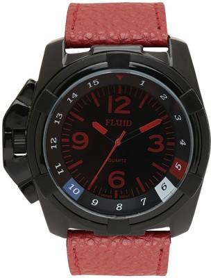 Fluid FL-152-BK-RD  Analog Watch For Men