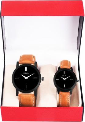 Mikado 2343 Couple Watches combo pack for Men & Women Watch  - For Men & Women