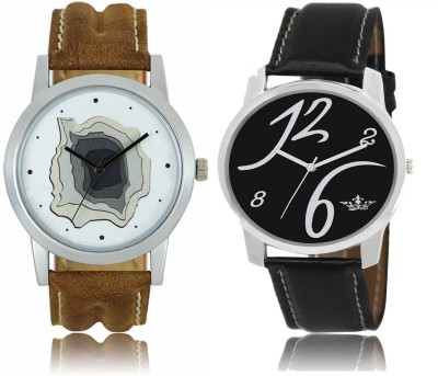 CM Men Watch Combo With Casual Look LR 09 _ LD 02 Watch  - For Men