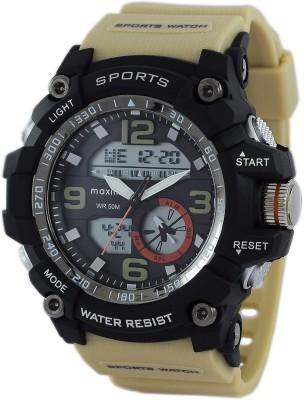 Maxima 49090PPAN  Analog-Digital Watch For Men