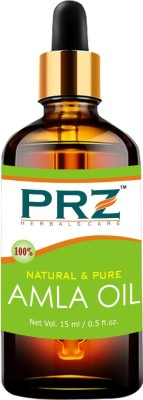 PRZ Amla Essential Oil (15ML) - Pure Natural & Therapeutic Grade Oil For Skin Care & Hair Care Hair Oil(15 ml)