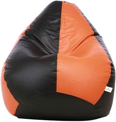 b65197c523 70% OFF on Star XXL Bean Bag Cover (Without Beans)(Black) on Flipkart