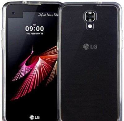 Case Creation Back Cover for LG X Screen K500N(Transparent Clear, Flexible Case)
