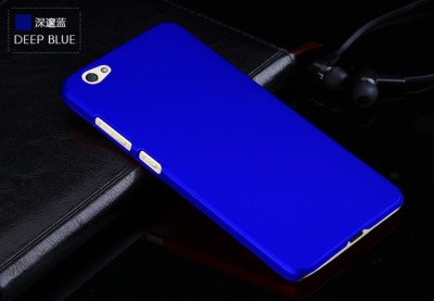 Case Creation Back Cover for VIVO V7(DARK ROYAL BLUE, Dual Protection, Plastic)