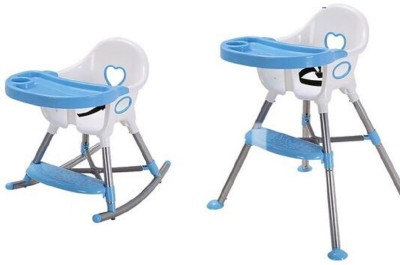 Variety Gift Centre 3 in 1 Baby Rocking High chair(Sky Blue)