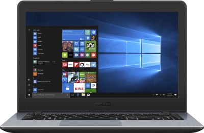 Image of Asus VivoBook APU Dual Core A9 Laptop which is one of the best laptops under 25000