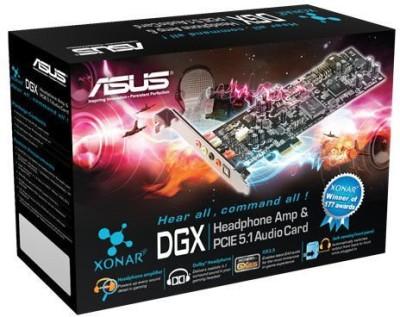 Asus Xonar DGX PCIe Internal Sound Card(5.1 Audio Channel)