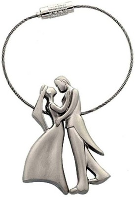 ibex Sweet Romantic Couple Metal Wire Key Chain Key Chain  available at flipkart for Rs.125