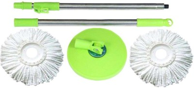 Peace Life 360° Spin Cleaning Handle Mop Set(Built in Wringer Multicolor)  available at flipkart for Rs.479