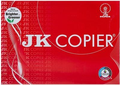 JK Copier unruled A4 Copy Paper(Set of 1, White)  available at flipkart for Rs.250
