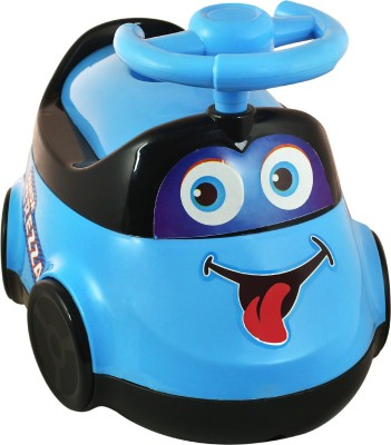 DealBindaas Brezza Potty Seat For Baby | Potty Training Seat For Kids | Potty Chairs For Boy And Girl With Removable Bowl & Closable Cover | Potty New Design Shape | Blue Colour Potty Box(Multicolor)