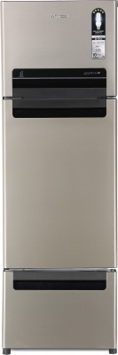 Whirlpool 260 L Frost Free Triple Door Refrigerator(Sunset Bronze, FP 283D Protton Roy)  available at flipkart for Rs.26990