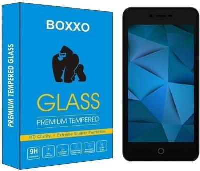 Boxxo Tempered Glass Guard for Karbonn Aura Sleek 4G